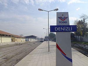 Denizli railway station - Image: Denizli station