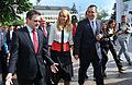 Depunerea candidaturii lui Mihnea Costoiu la Colegiul 2 Senat, Tg. Jiu - 03.05 (4) (13909219958).jpg