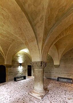 Der Rittersaal in der Wartburg. 02