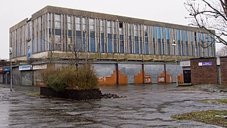 Linwood, Renfrewshire - derelict shopping centre (2012)