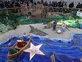 Desembre 2014 - Pessebre a la plaça de Sant Jaume - Muralles de Barcino 02.JPG
