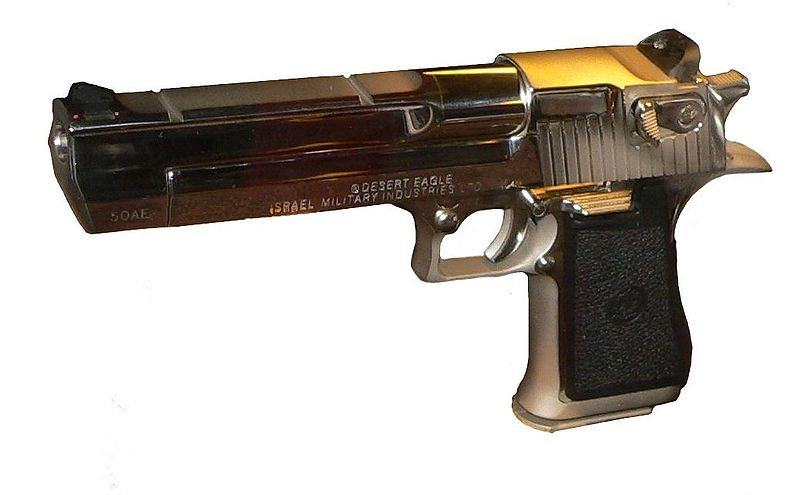 chrome baby desert eagle - photo #29