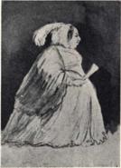 Desideria caricature by Fritz von Dardel