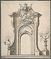 Design for Festival Architecture for an Entry into Paris for the King of Sweden, Frederick I of Hesse MET DP808394.jpg