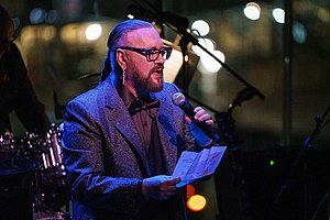 "Desmond Child performs as part of Lincoln Center's ""American Songbook"" series in February 2019"