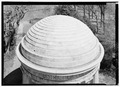 Detail of dome, from above - District of Columbia War Memorial, West Potomac Park, Washington, District of Columbia, DC HABS DC-857-2.tif