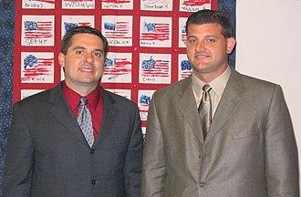 David Valadao - Valadao with Devin Nunes in June 2004