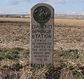 Diamond Springs Station monument 1.JPG