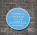 Dickens plaque, Angel Hotel 1.JPG
