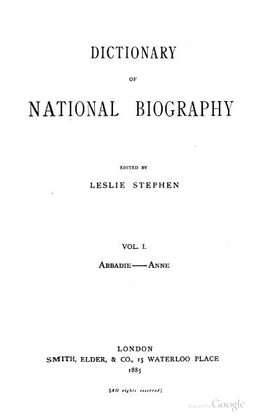 Fil:Dictionary of National Biography volume 01.djvu