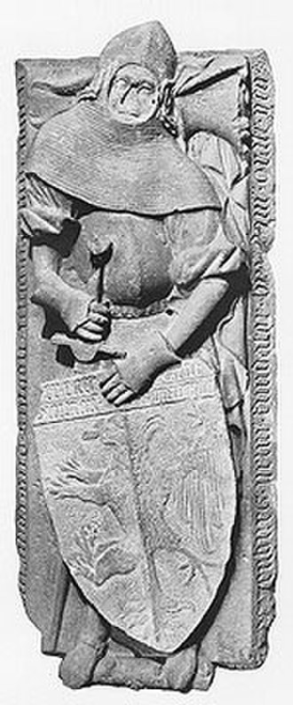 Counts of Toggenburg - Image: Diethelm von Toggenburg (d.1207) tomb