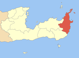 The former municipality of Itanos