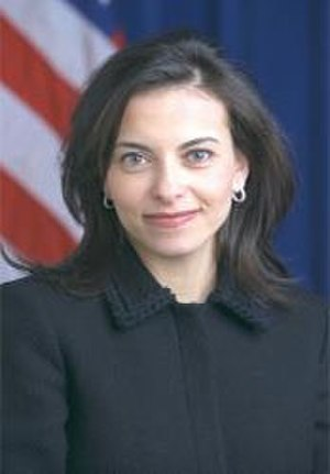 Dina Powell - Official White House photo during Bush years