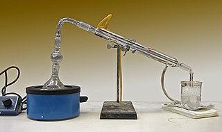 Condenser (laboratory) laboratory apparatus used to condense gases into liquids