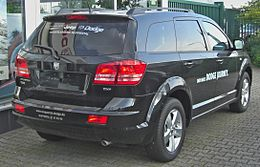 Dodge Journey 2.0 CRD SXT rear.JPG