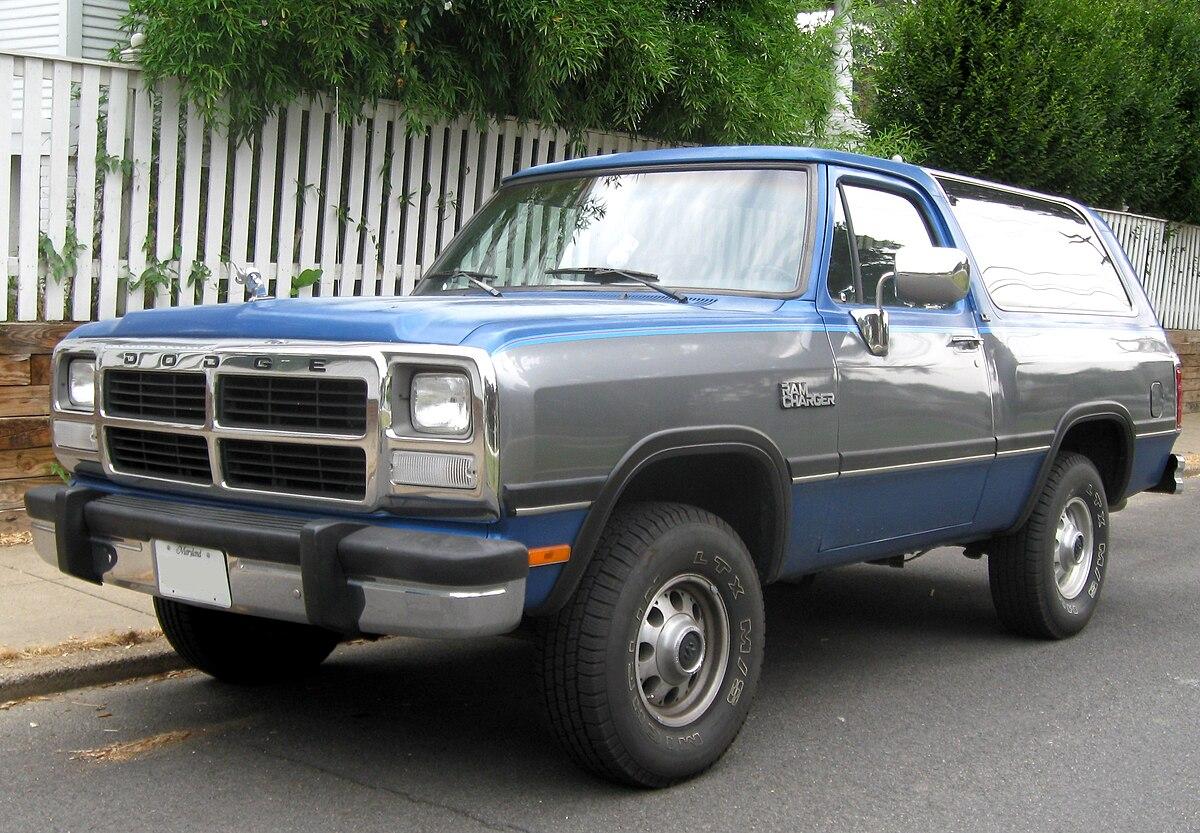 Dodge Ramcharger - Wikipedia