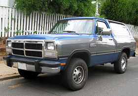 Dodge Ramcharger - Wikipedia, the free encyclopedia