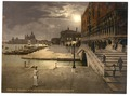 Doges' Palace and St. Mark's by moonlight, Venice, Italy-LCCN2001701066.tif