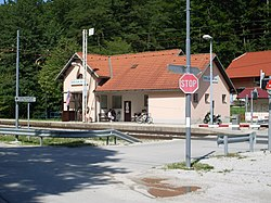 Dolga Gora-train station.jpg