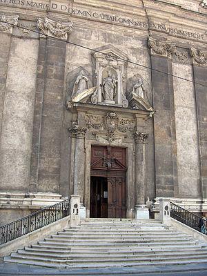 Dominican Church, Vienna - Façade