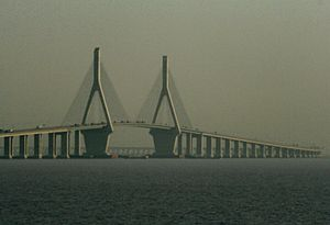 Donghai Bridge - Image: Donghai Bridge 2