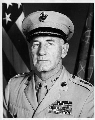 Donn J. Robertson - LTG Donn J. Robertson, USMC