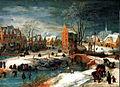 Dorf im Winter Joos de Momper HKH.jpg