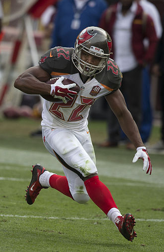 Doug Martin (running back) - Martin with the Tampa Bay Buccaneers in 2015