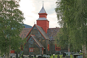 1736 in Norway - Dovre Church