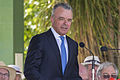 Dr Brendan Nelson launching the Centenary of the Kangaroo March.jpg