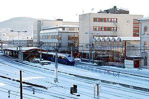 Drammen Station - Drammen Station with a NSB Class 73 unit
