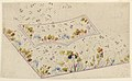 Drawing, Design for Embroidered Waistcoat, pattern 1691 of the Fabrique de St. Ruf, ca. 1785 (CH 18212607-2).jpg