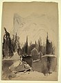 Drawing, Mirror Lake, Yosemite, 1872 (CH 18189959).jpg