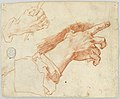 Drawing, Study of Gesturing Hands, 18th century (CH 18120757).jpg