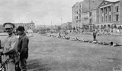 Drilling troops in one of the Baku Squares (Ariel Varges).jpg