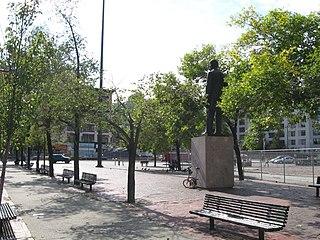 Duarte Square Public park in Manhattan, New York