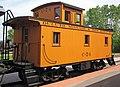 Duluth, Missabe & Iron Range Railway - C-74 caboose 2 (19128189739).jpg