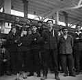 Dunakeszi házgyár 1970, munkások. Fortepan 87141.jpg