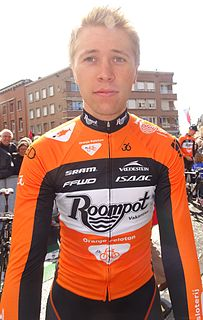 Maurits Lammertink Dutch cyclist