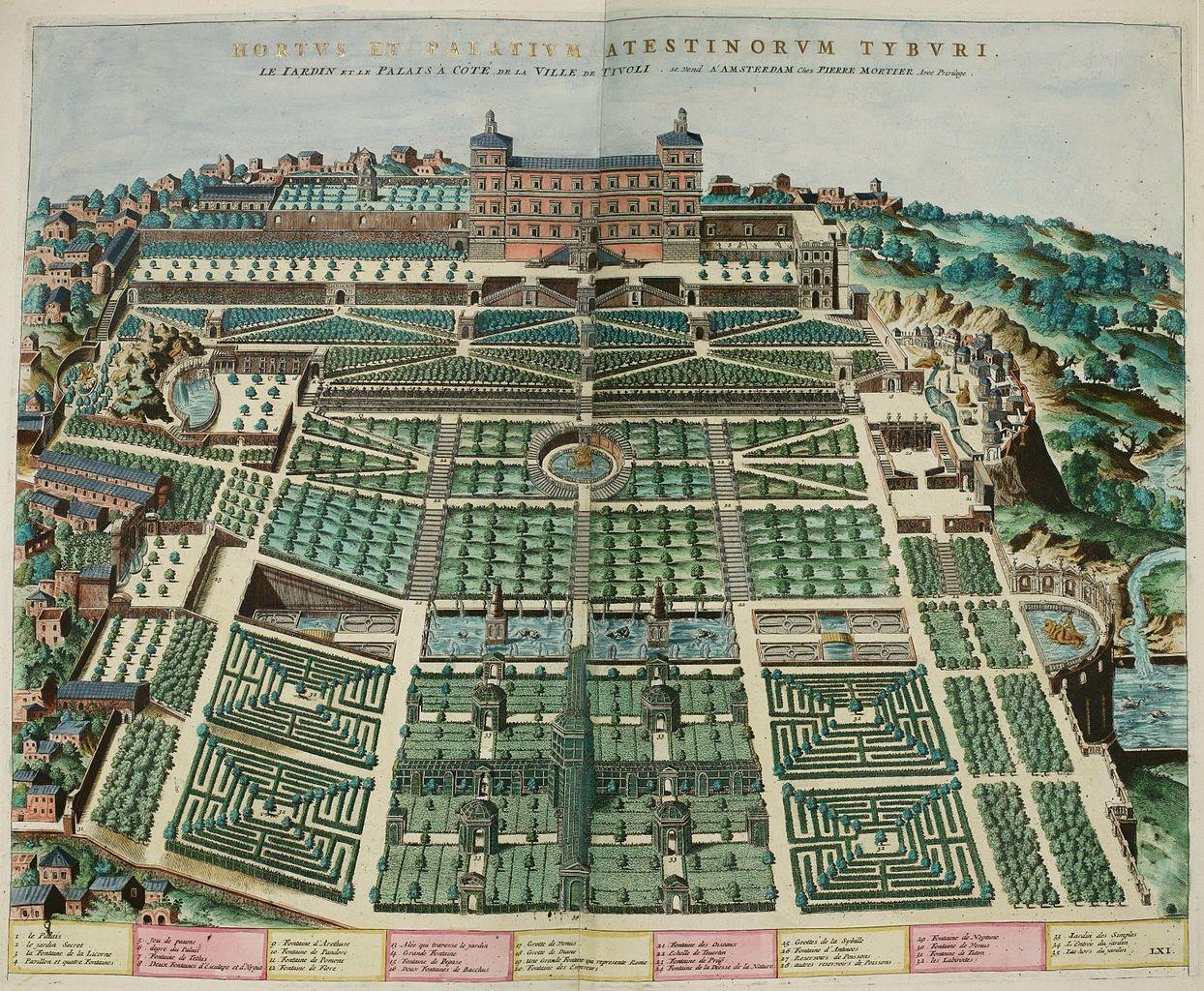 file dup rac tienne gardens at villa d 39 este 1560 wikimedia commons. Black Bedroom Furniture Sets. Home Design Ideas
