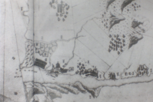 Fort San Domingo - Image: Dutch Tamsui Map 1654