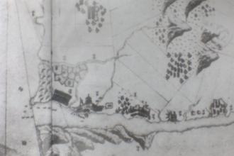 Fort San Domingo - Image: Dutch Tamsui Map 1654