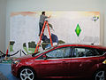 E3 2011 - Sims 3 and Ford mural in progress (5822675050).jpg