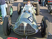 1938 E-Type chassis no. GP1, raced by H.L. Brooke, Leslie Johnson, Reg Parnell, Peter Walker and Peter Whitehead