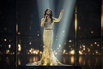 Austria in the Eurovision Song Contest 2014 - Wurst at a dress rehearsal for the second semi-final