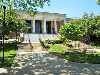 East Tennessee State University -  Dossett Hall