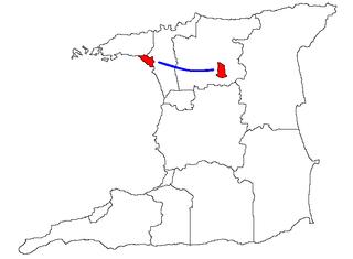 East–West Corridor Metropolitan Area in Trinidad and Tobago