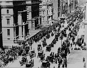 Easter parade - Fifth Avenue, New York City, on Easter Sunday, 1900