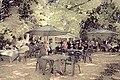 Easton Lodge Gardens, Little Easton, Essex, England outdoor café 04 digiart 02.jpg