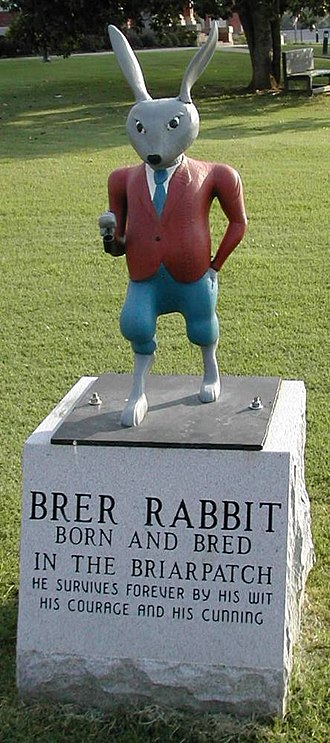 Br'er Rabbit - Eatonton, Georgia's statue of Br'er Rabbit